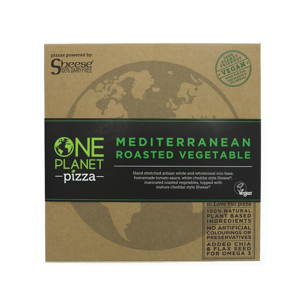 PIZZA MEDITERRANEA VEGETAL 485 GR ONE PLANET PIZZA en Biovegalia