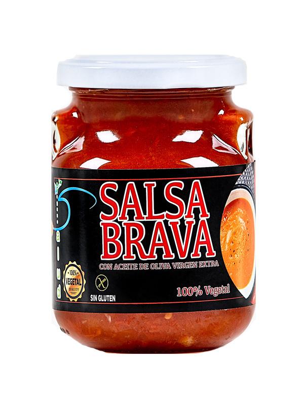 SALSA BRAVA VEGANO 275g VEGANO SALUD en Biovegalia