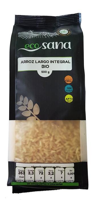 ARROZ LARGO INTEGRAL BIO 500 GR ECOSANA en Biovegalia