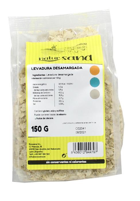 LEVADURA DESAMARGADA 150GR NATURSANA