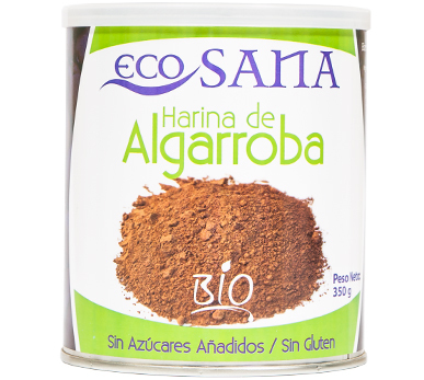 HARINA ALGARROBA BIO 350GR ECOSANA en Biovegalia