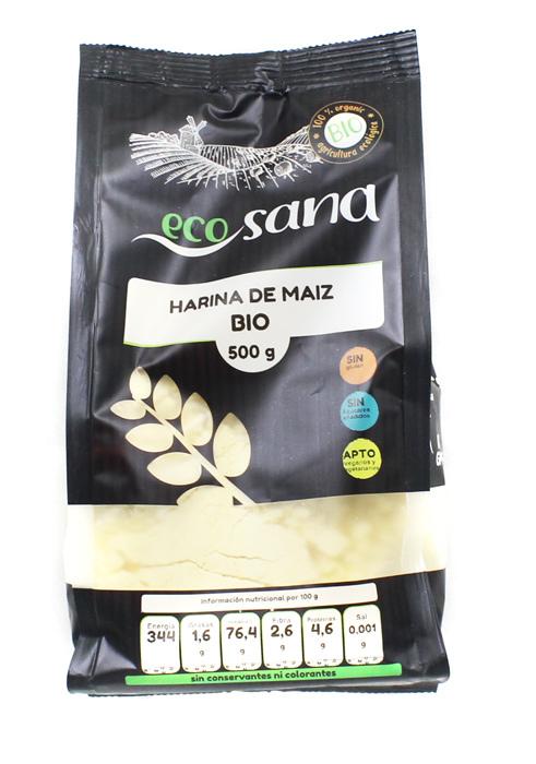 HARINA MAIZ BIO 500GR ECOSANA en Biovegalia