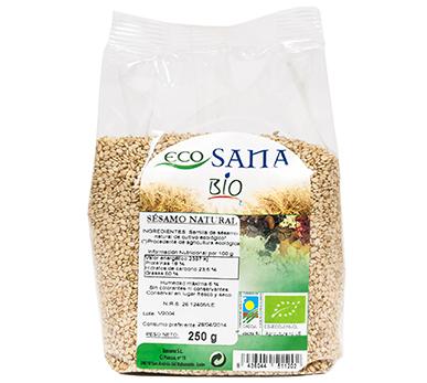 SESAMO NATURAL 250GR BIO ECOSANA en Biovegalia