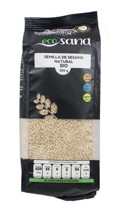 SESAMO NATURAL 500GR BIO ECOSANA en Biovegalia
