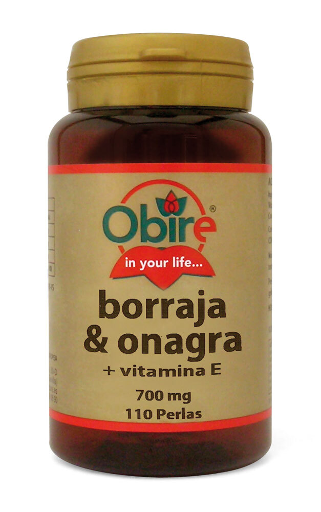 BORRAJA Y ONAGRA 500MG 110 PERL OBIRE en Biovegalia