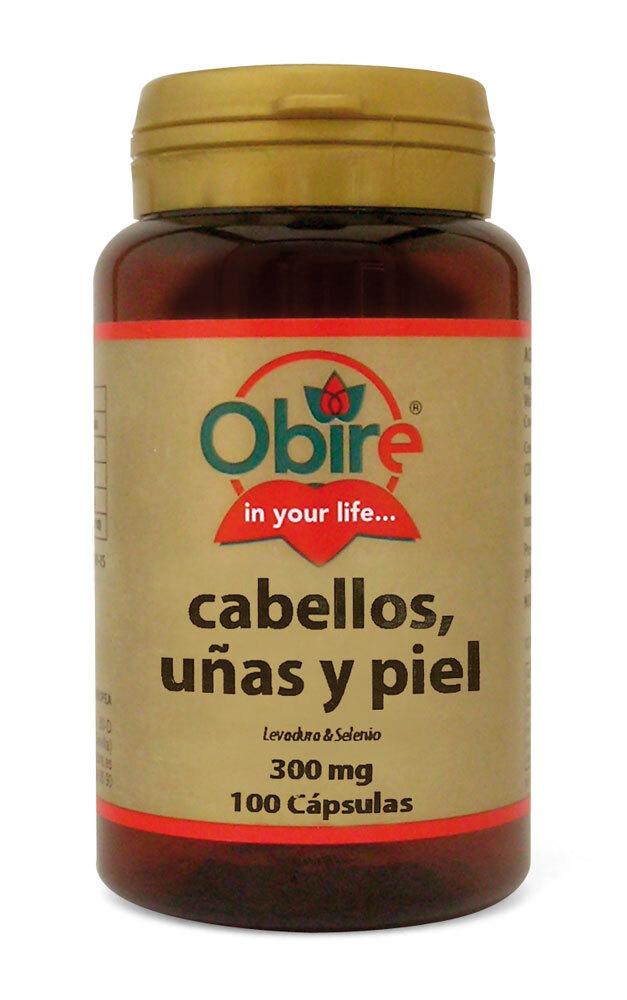 CABELLOS UÑA (LEV Y  SELENIO) 100CAPS OBIRE en Biovegalia