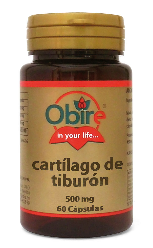 CARTILAGO DE TIBURON 500MG 60CAPS