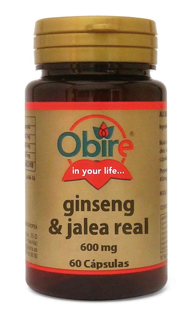 GINSENG Y JALEA REAL 600MG 60CAPS