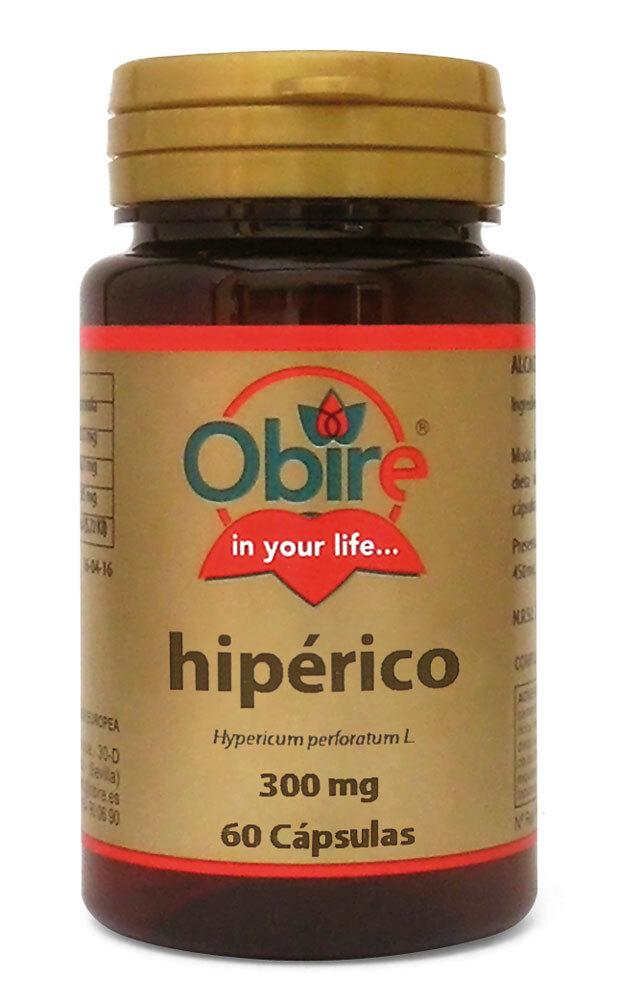 HIPERICO 300MG 60CAPS OBIRE en Biovegalia