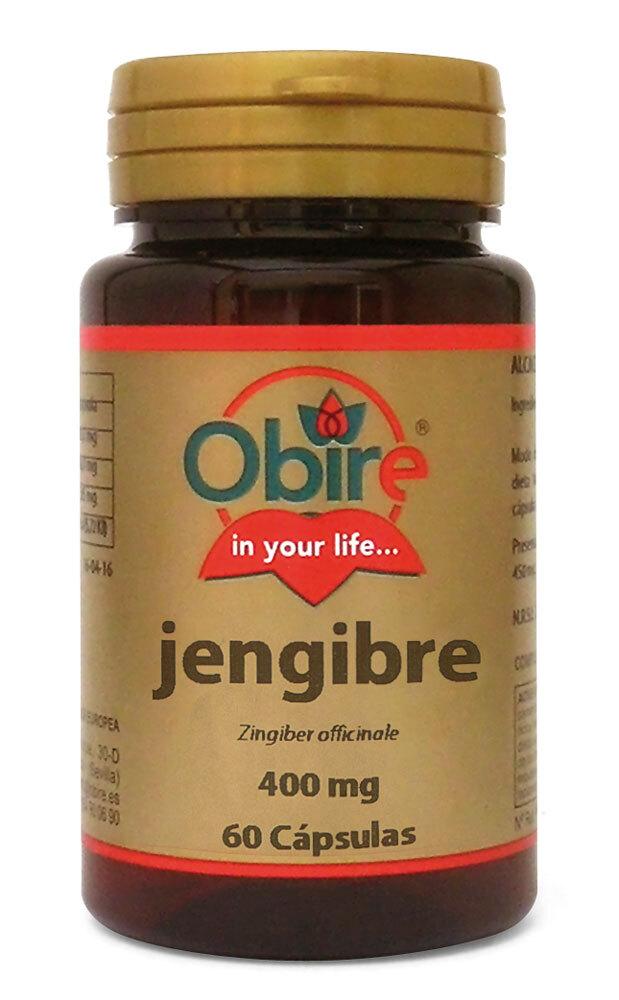 JENGIBRE 400MG 60CAPS OBIRE en Biovegalia