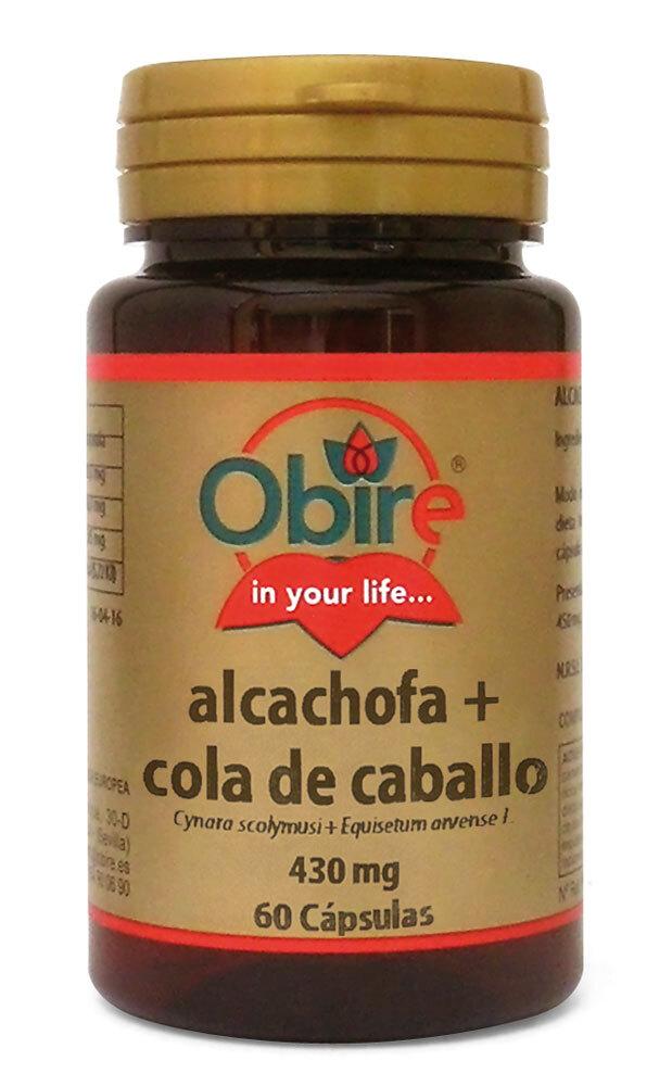 ALCACHOFA Y COLA CABALLO 430MG 60CAP OBIRE en Biovegalia