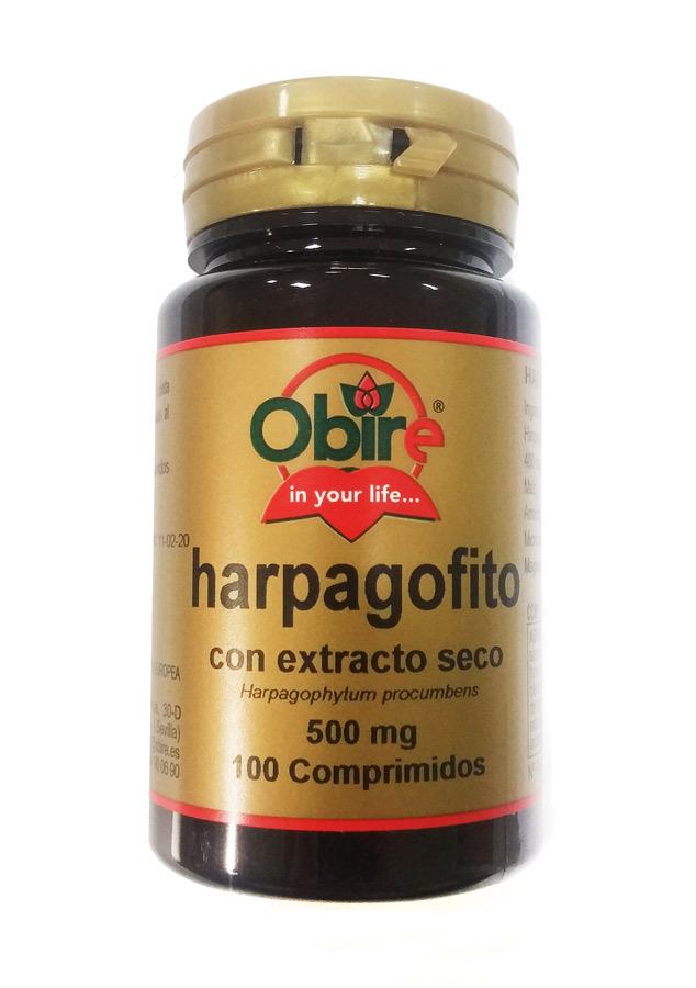 HARPAGOFITO 500MG 100 COMP OBIRE en Biovegalia