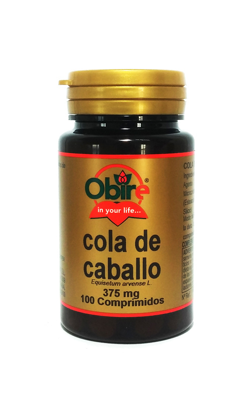 COLA CABALLO 375MG  100COMP