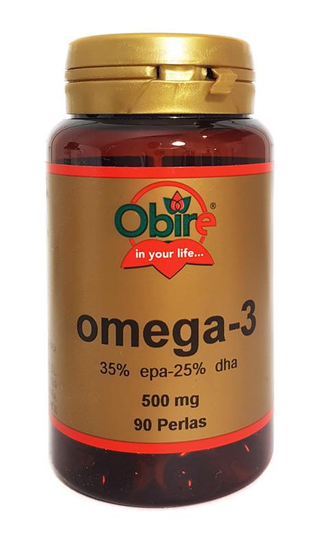 OMEGA-3 500MG  90 PERLAS OBIRE en Biovegalia