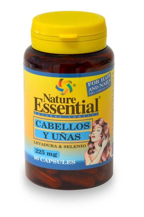 CABELLO Y UÑAS (LEV Y SEL) 225MG 90 CAPS NATURE ESSENTIAL en Biovegalia