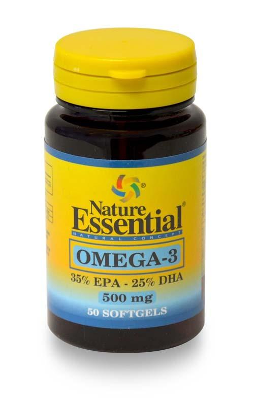 OMEGA  3 (EPA 35%   DHA25%) 500MG 50PERL NATURE ESSENTIAL en Biovegalia