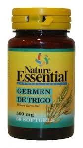 ACEITE DE GERMEN DE TRIGO 500MG 60PER NATURE ESSENTIAL en Biovegalia
