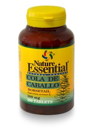 COLA DE CABALLO 500MG 250 COMP NATURE ESSENTIAL en Biovegalia