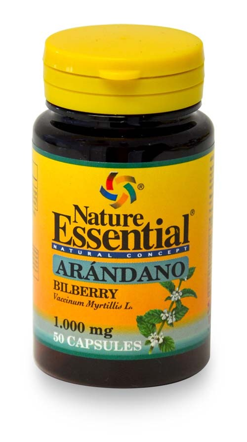 ARANDANO 1000MG 50CAPS NATURE ESSENTIAL en Biovegalia