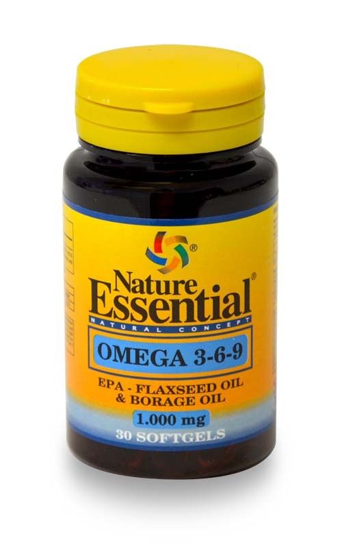 OMEGA  3 6 9 1000MG 30 PERLAS NATURE ESSENTIAL en Biovegalia