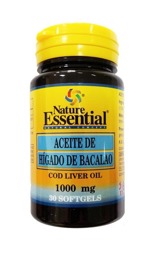 ACEITE HIGADO BACALAO 1000 MG 30 PER NATURE ESSENTIAL en Biovegalia