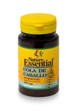 COLA DE CABALLO 500MG 60TAB NATURE ESSENTIAL en Biovegalia