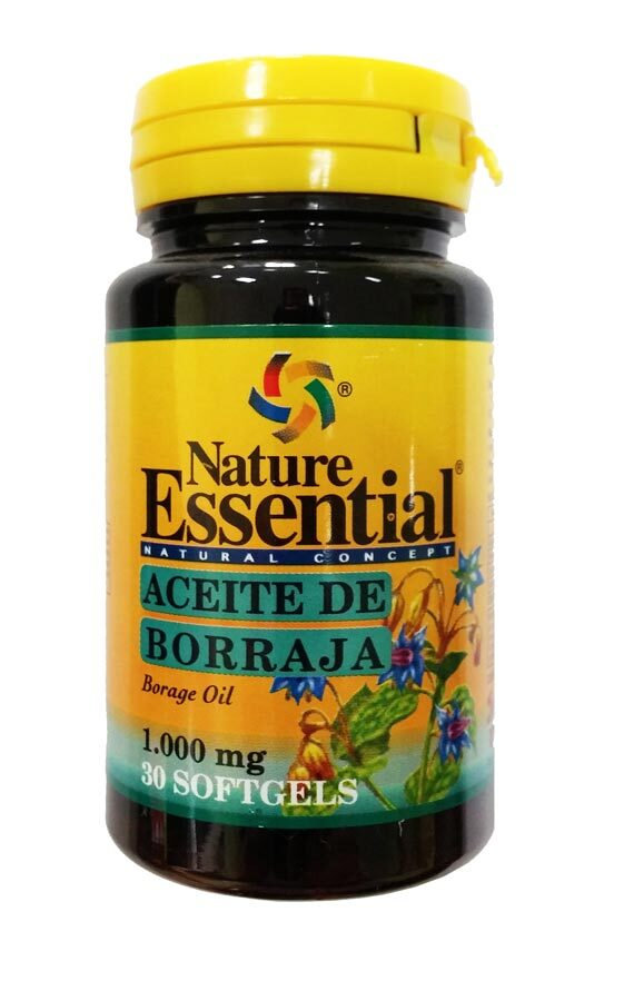 BORRAJA 1000 MG  30 PERLAS NATURE ESSENTIAL en Biovegalia