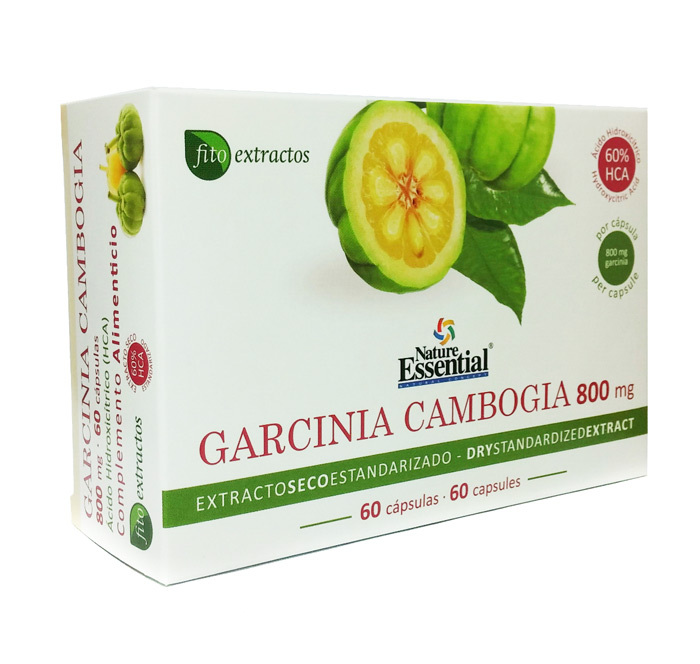 GARCINIA CAMBOGIA 800MG (EXT SECO 60%HCA) 60 CAPS NATURE ESSENTIAL en Biovegalia