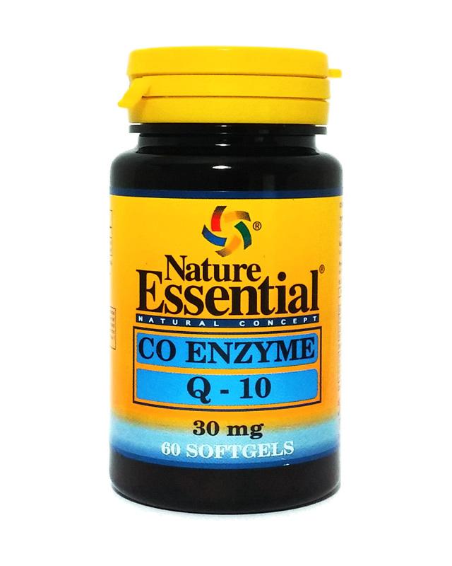 COENZIMA Q10 30MG 60 PERLAS NATURE ESSENTIAL en Biovegalia