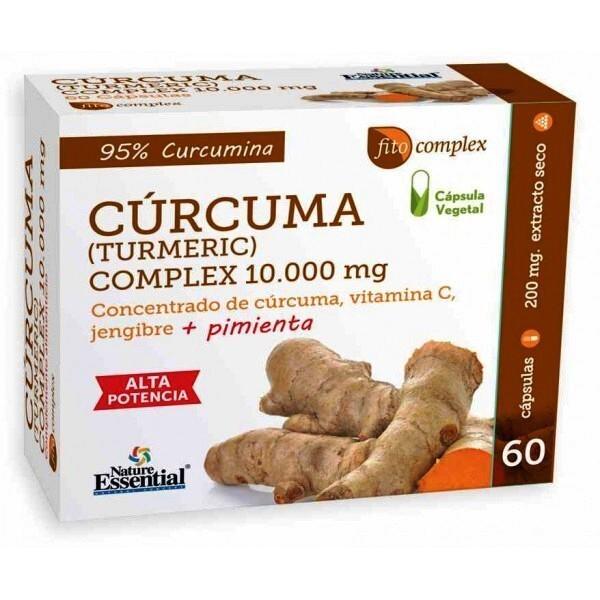 CURCUMA COMPLEX 10.000MG  60 CAP NATURE ESSENTIAL en Biovegalia