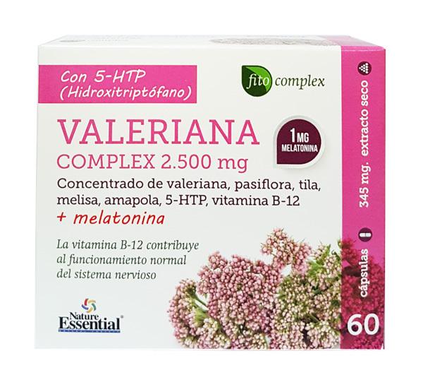 VALERIANA COMPLEX 1500MG  60 CAP NATURE ESSENTIAL en Biovegalia