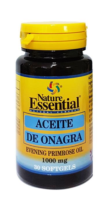 AC ONAGRA (10%GLA) 1000MG 30 PERLAS NATURE ESSENTIAL en Biovegalia