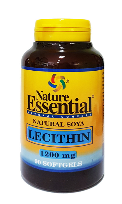 LECITINA DE SOJA 1200 MG 90PERL NATURE ESSENTIAL en Biovegalia