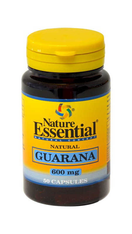 GUARANA 600 MG 50 CAPSULAS NATURE ESSENTIAL en Biovegalia