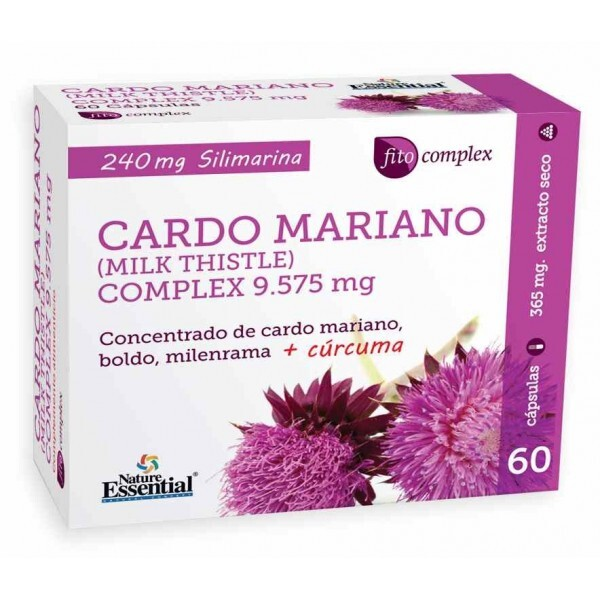 CARDO MARIANO COMPLEX 1500MG  60 CAP NATURE ESSENTIAL en Biovegalia