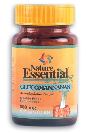 NE GLUCOMANANA 500 MG 50 CAP NATURE ESSENTIAL en Biovegalia