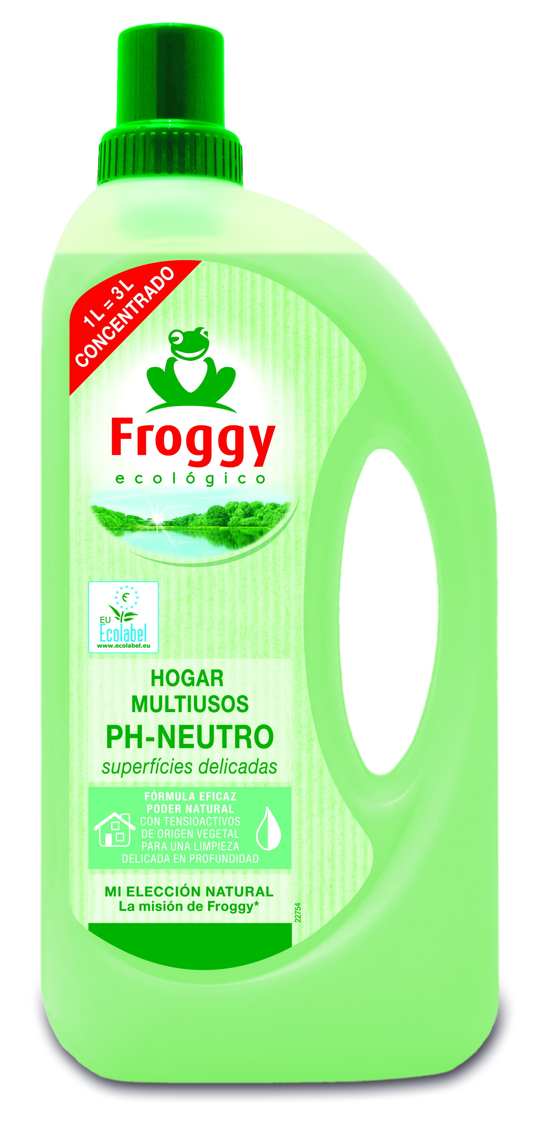 MULTIUSOS PH NEUTRO ECOLOGICO FROGGY 1000ML en Biovegalia