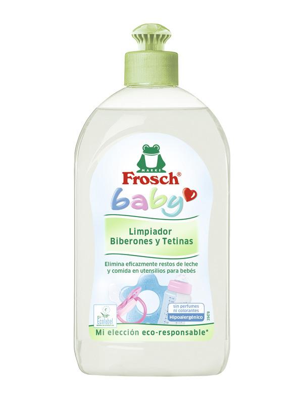 BABY LIMPIA BIBERONES Y TETINAS  - FROSCH en Biovegalia.