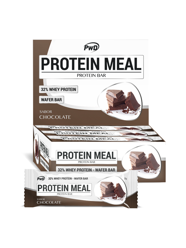 BARRITA CHOCOLATE PROTEIN MEAL 35GR PWD NUTRITION en Biovegalia