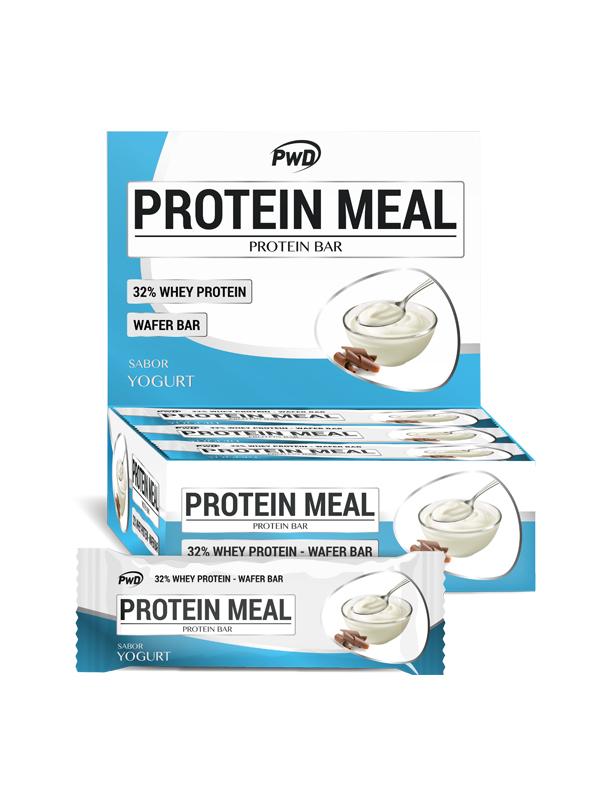 BARRITA YOGUR PROTEIN MEAL 35GR PWD NUTRITION en Biovegalia