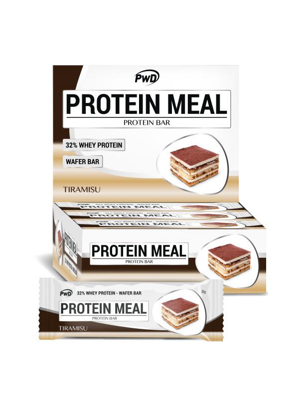 BARRITA TIRAMISU PROTEIN MEAL 35GR PWD NUTRITION en Biovegalia
