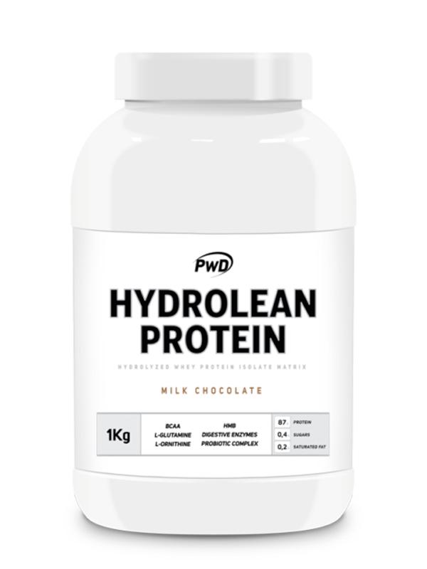 PROTEINA HIDROLIZADA HYDROLEAN PROTEIN CHOCOLATE  1KG PWD NUTRITION en Biovegalia