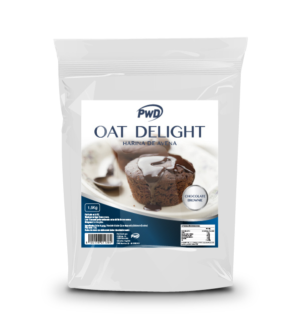 HARINA DE AVENA OAT DELIGHT CHOCOLATE BROWNIE 1.5 KG
