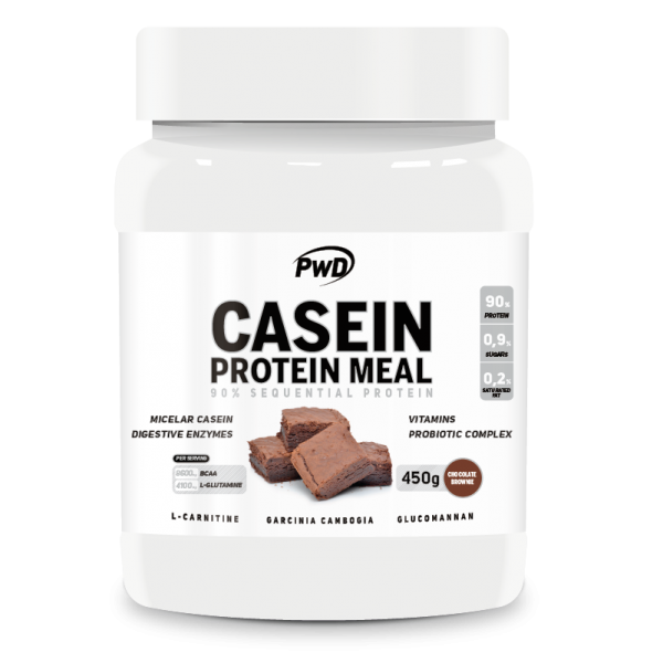 CASEIN PROTEIN MEAL CHOCOLATE 450 G PWD NUTRITION en Biovegalia