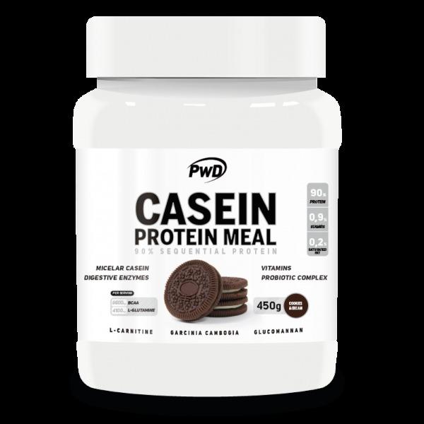 CASEIN PROTEIN MEAL COOKIES CREAM 450 G PWD NUTRITION en Biovegalia