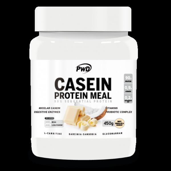 CASEIN PROTEIN MEAL CHOCOLATE BLANCO Y COCO 450 G PWD NUTRITION en Biovegalia