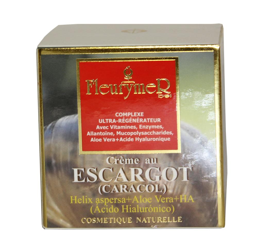 CREMA CARACOL Y ACIDO  HIALURONICO Y ALOE 50ml
