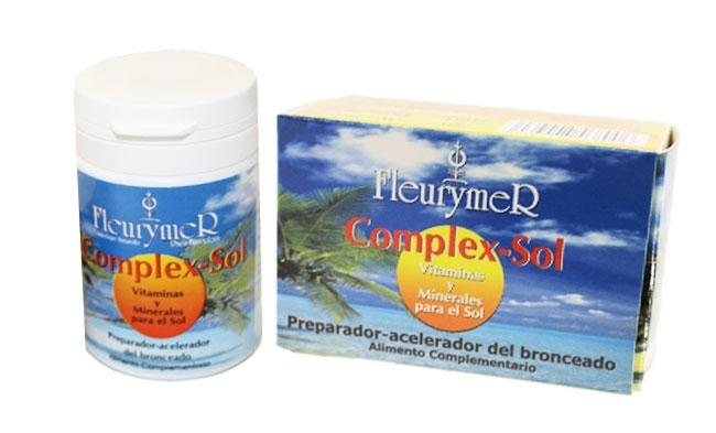 COMPLEX SOL VIT Y  MINERALES 60 CAPS FLEURYMER en Biovegalia