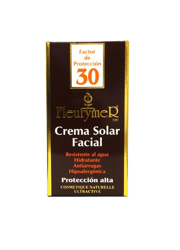 CREMA SOLAR FACIAL SPF 30 TUBO 80ML FLEURYMER en Biovegalia