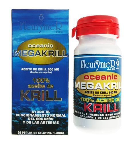 MEGAKRILL 100% ACEITE DE KRILL 60 PER 500MG FLEURYMER en Biovegalia